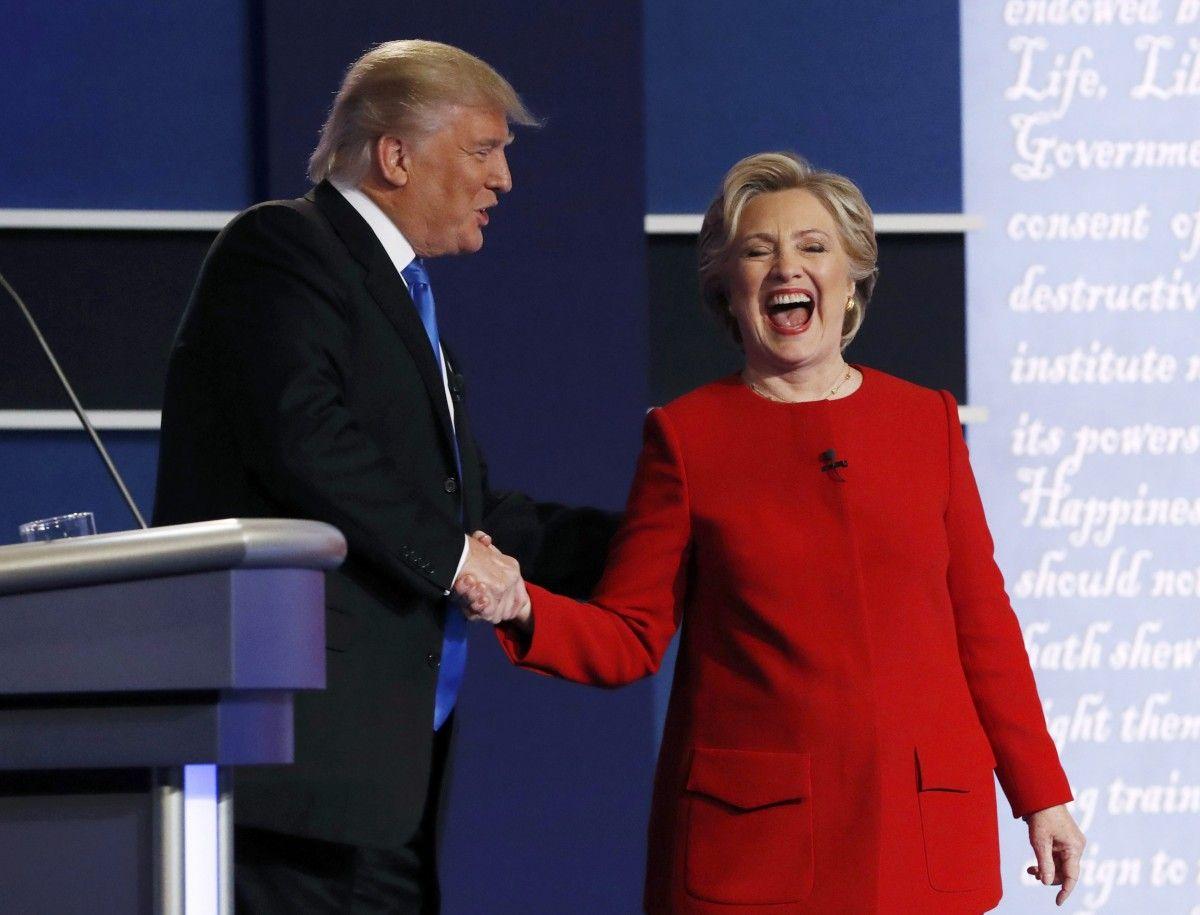 Дональд Трамп і Гілларі Клінтон / REUTERS