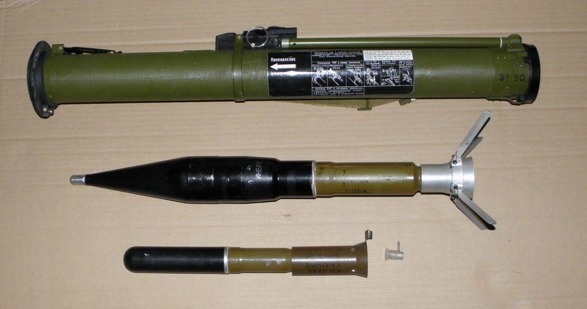 За версією рятувальників, детонувати міг снаряд РПГ-26 / guns.allzip.org