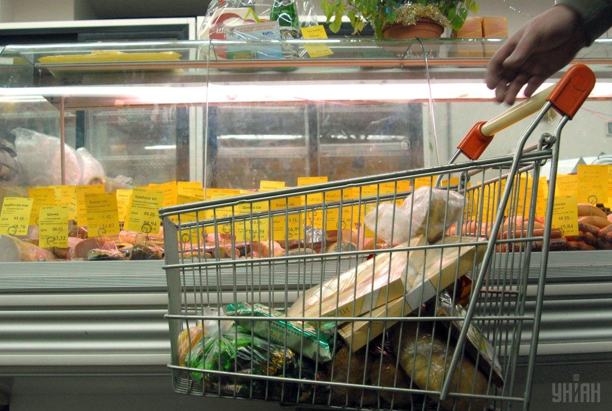 Інфляцію в Україні стримувало повільне подорожчання продуктів харчування / фото УНІАН