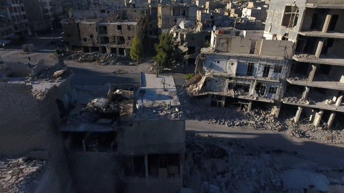 Улицы Алеппо, иллюстрация / REUTERS