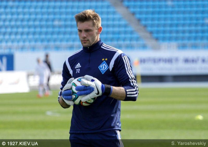 Рудбко дебютирует в Лиге чемпионов / С. Ярошевский