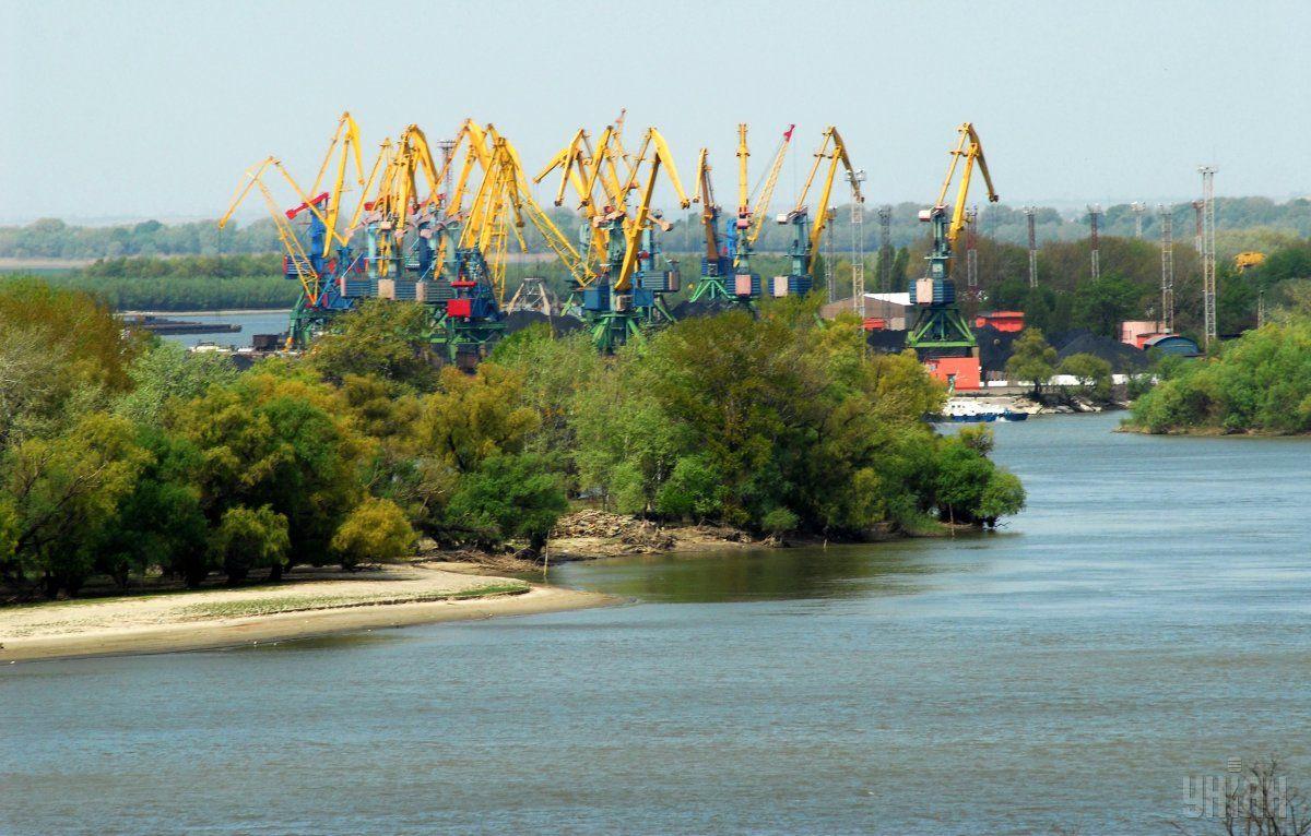 Днопоглиблювальні роботи в портах Ізмаїл і Рені триватимуть до 5 місяців / фото УНІАН