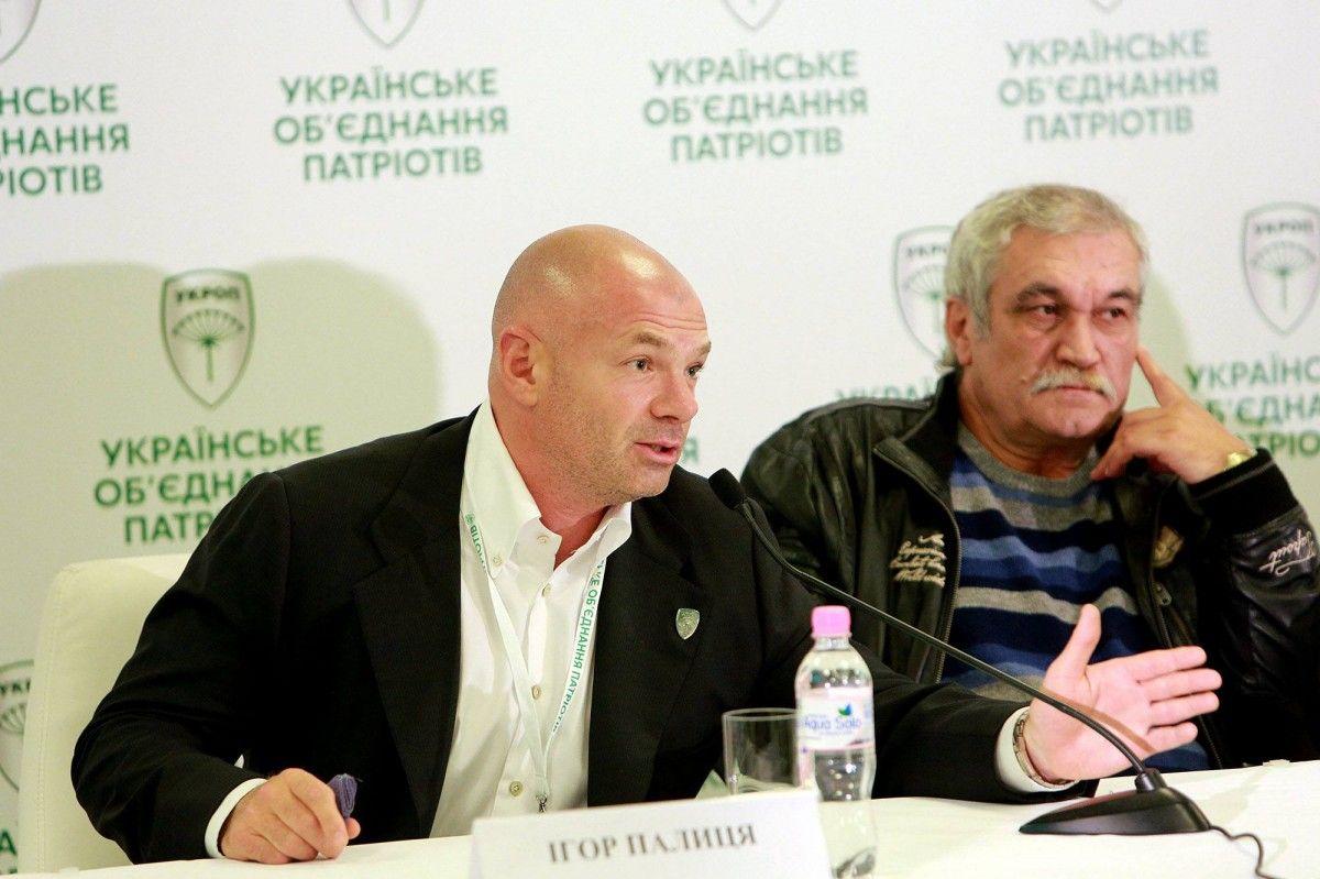 Палица обвинил Банковую и местного нардепа в грязной информационной кампании / Фото УНИАН