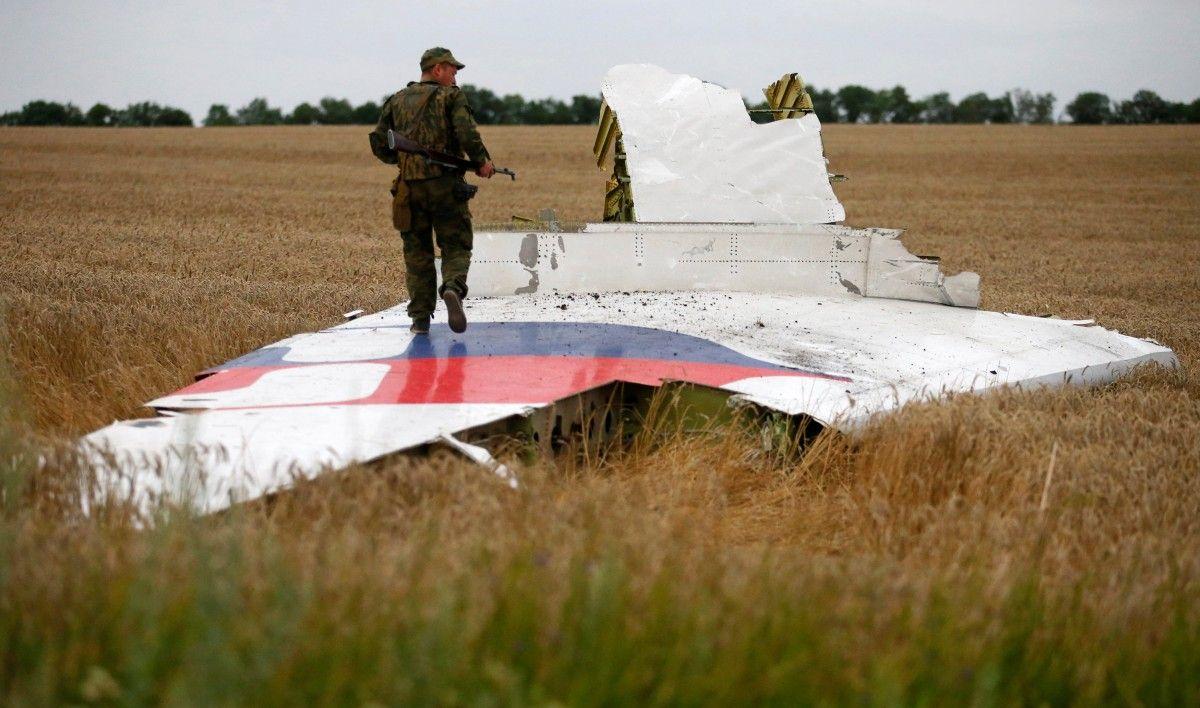 Обломок самолета МН17 / REUTERS