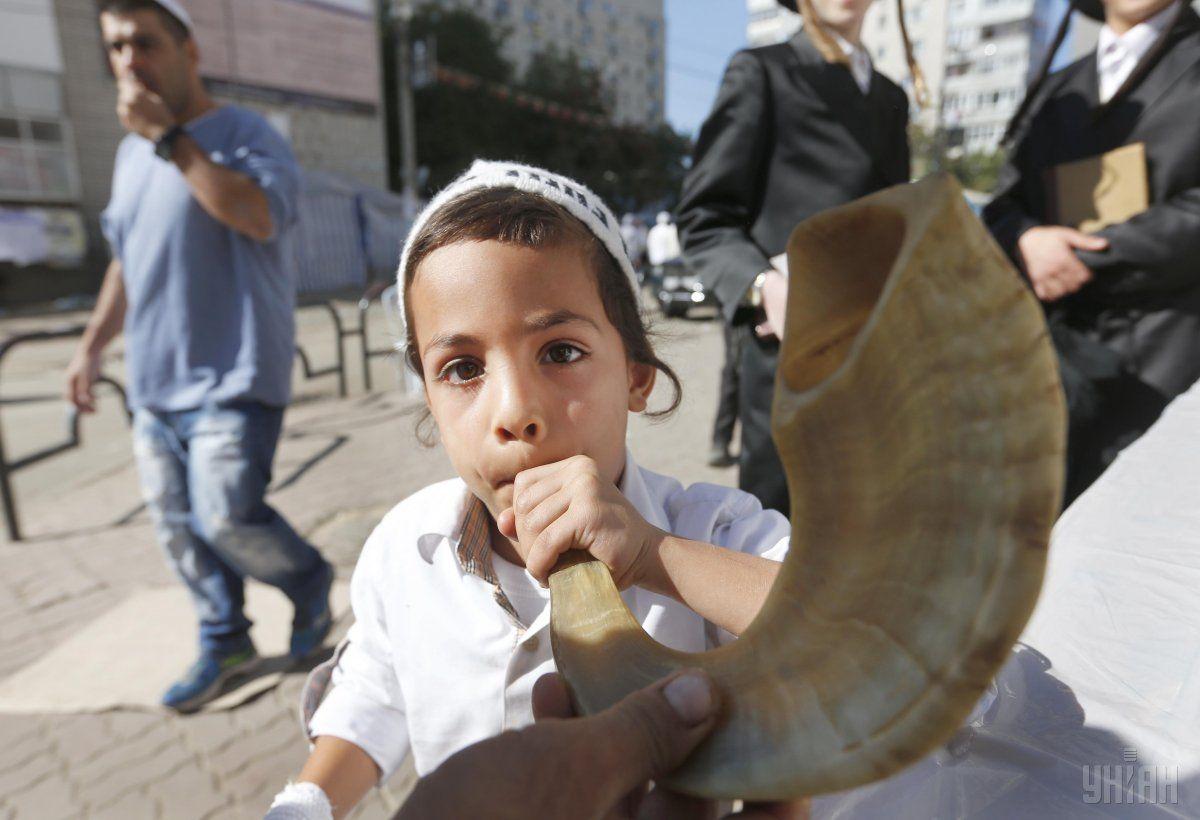 Святкування юдейського Нового року в Умані / УНІАН