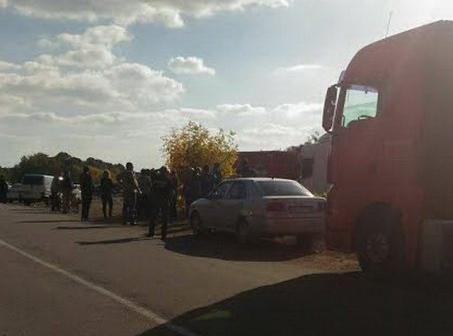 В Погребищі заблокували вантажівки зі сміттям / vinnitsa.info