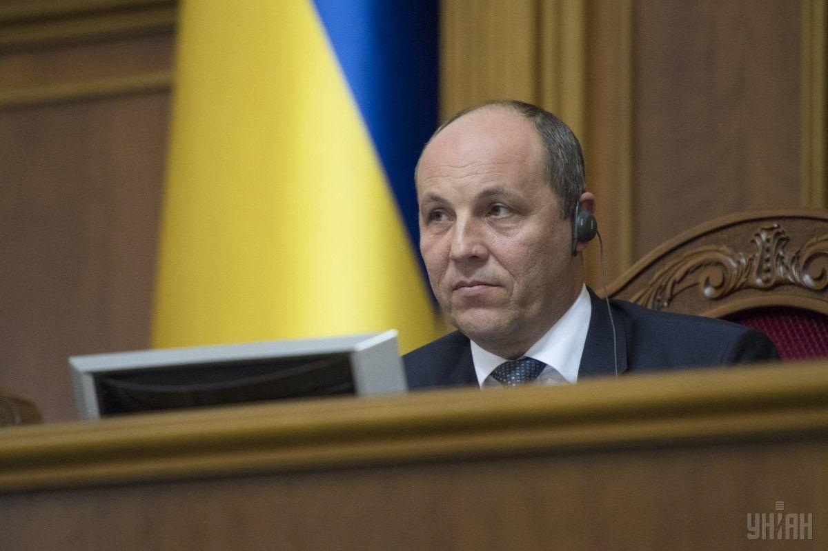 Парубій прокоментував скандальне питання обмеження доступу журналістів до кулуарів парламенту / фото: УНИАН