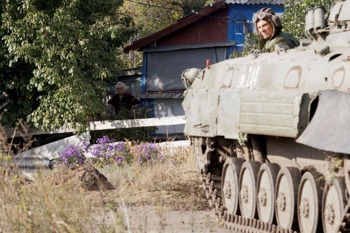 П'яний бойовик зруйнував газорозподільчий пункт на Донеччині / REUTERS
