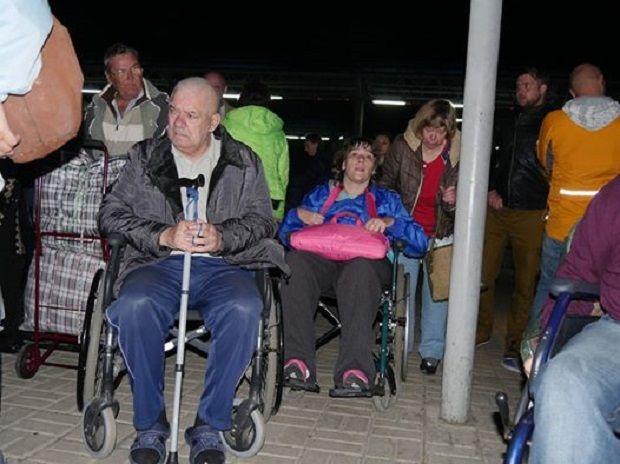 Переселенці-інваліди повернулися до зони АТО / facebook.com/istokoz