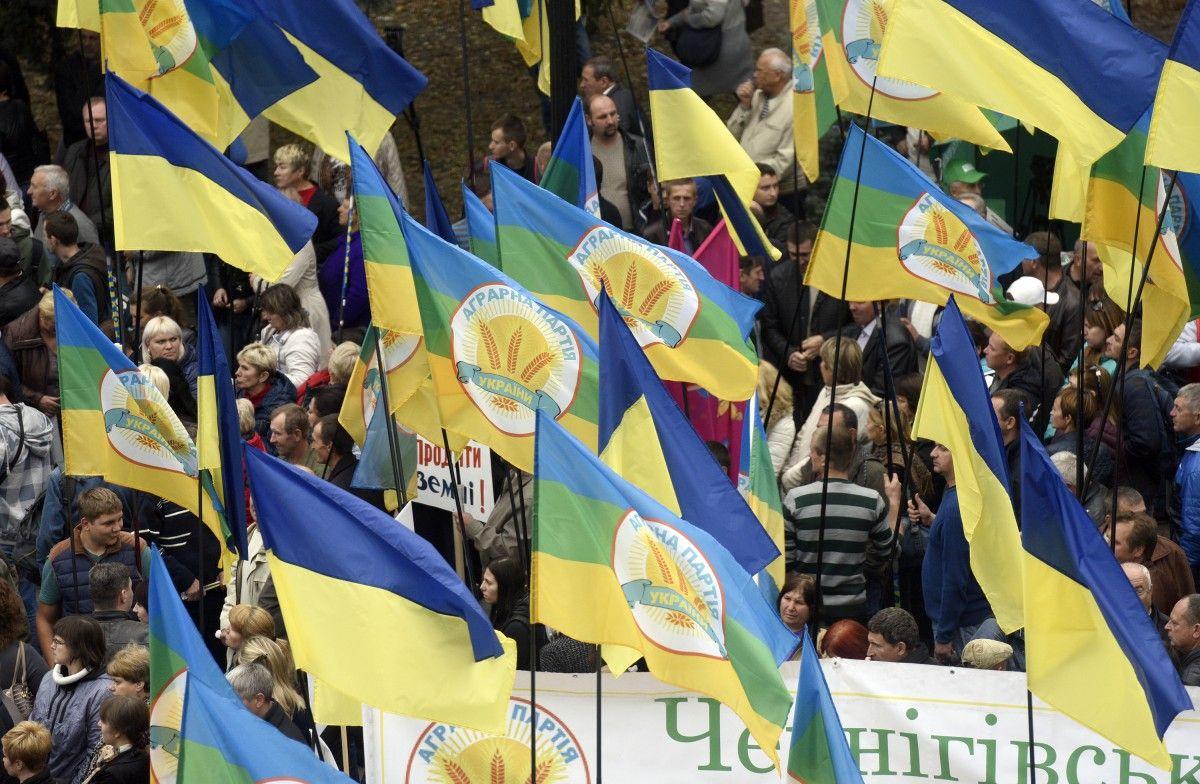 Відсоток підтримки Аграрної партії постійно зростає / Фото УНІАН