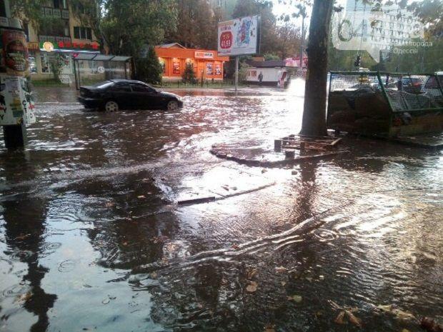 Ливень в Одессе / 048.ua
