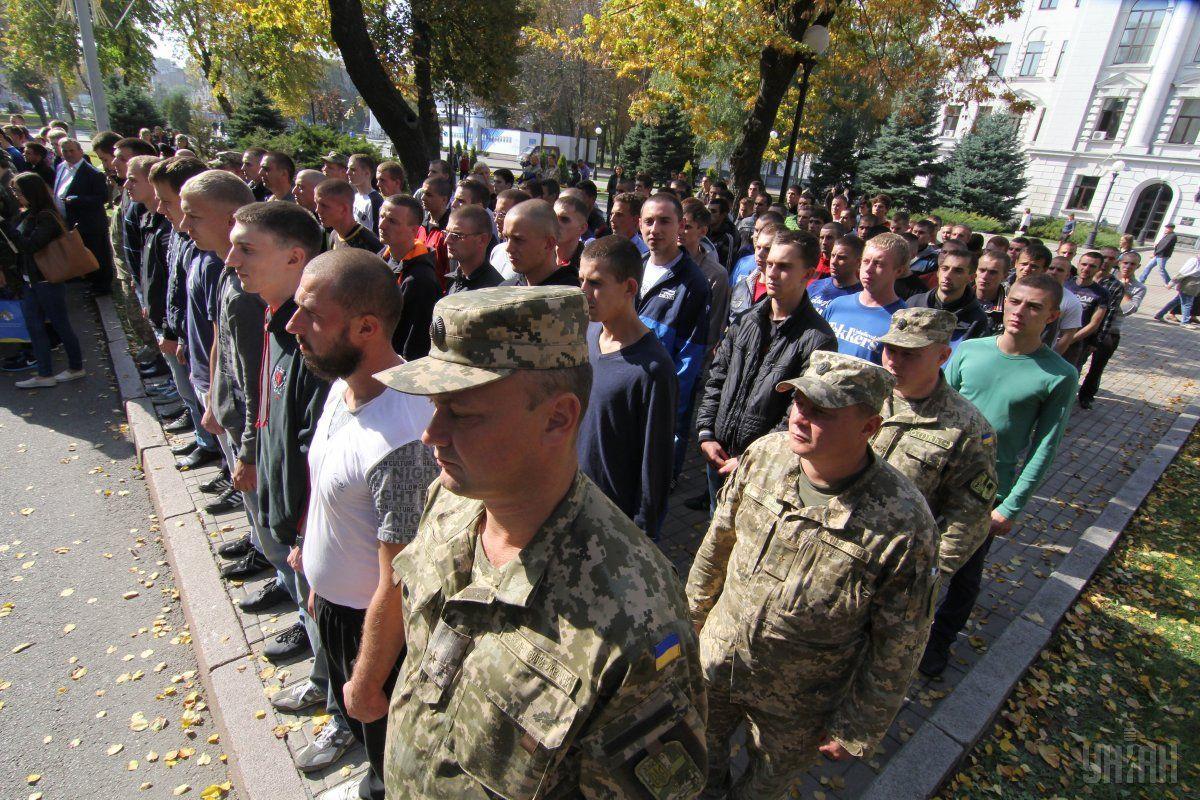 1 октября в Украине начался осенний призыв на срочную военную службу / фото УНИАН
