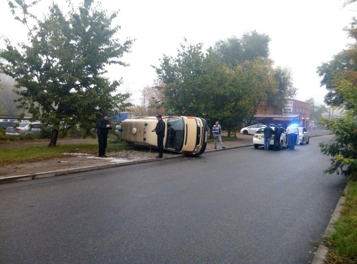 Фото пресс-служба патрульной полиции Днепра