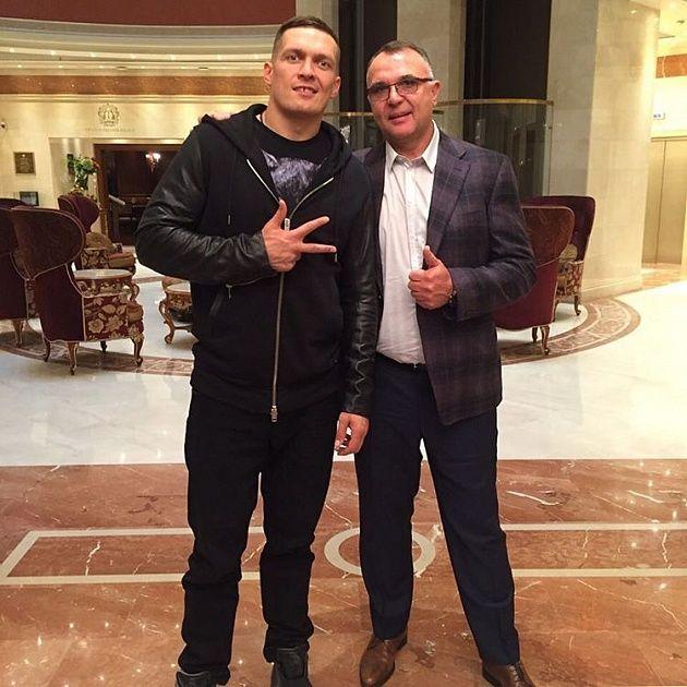 Среди подопечных нового менеджера Усика есть ряд звездных боксеров / К2