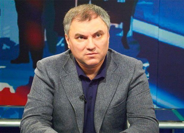 Володин считает, что в Украине права нацменьшинств постоянно нарушаются/ Кадр ВГТРК Саратов