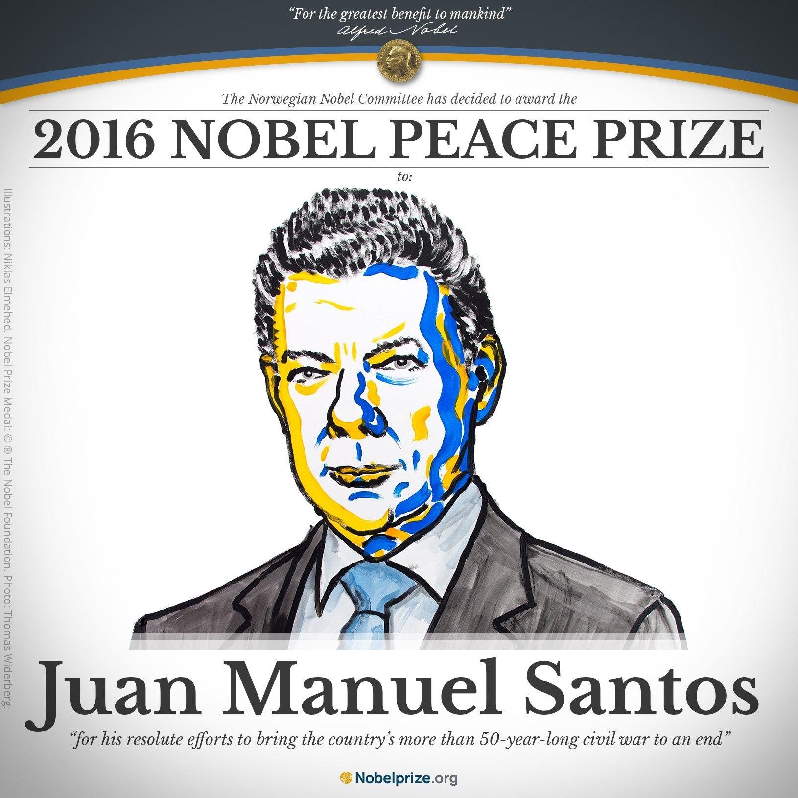 Фото Twitter The Nobel Prize