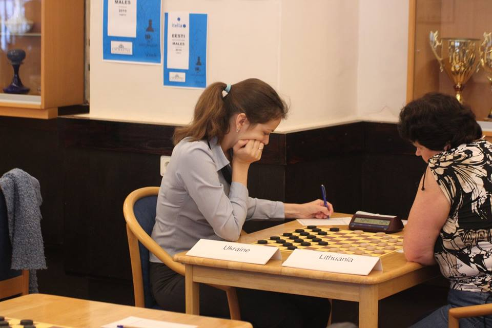 Международный гроссмейстер Виктория Мотричко завоевала на турнире в Таллине две медали чемпионата Европы / ukrshashki.at.ua