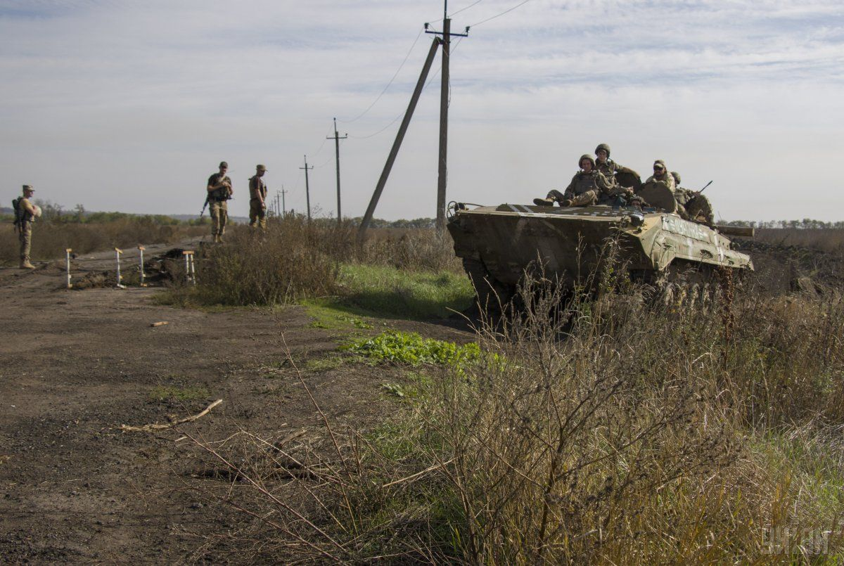На Донбасі з початку доби окупанти один раз порушили режим тиші / фото УНІАН