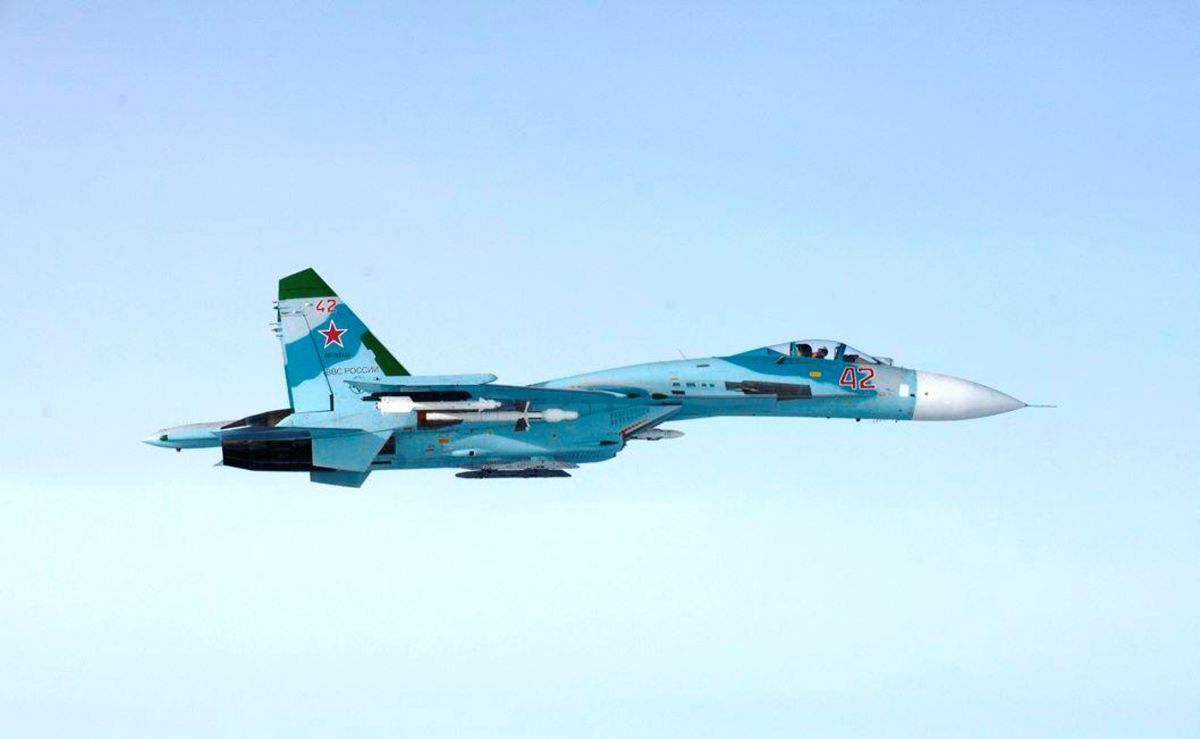 An illustrative image / Russian Su-27 / REUTERS