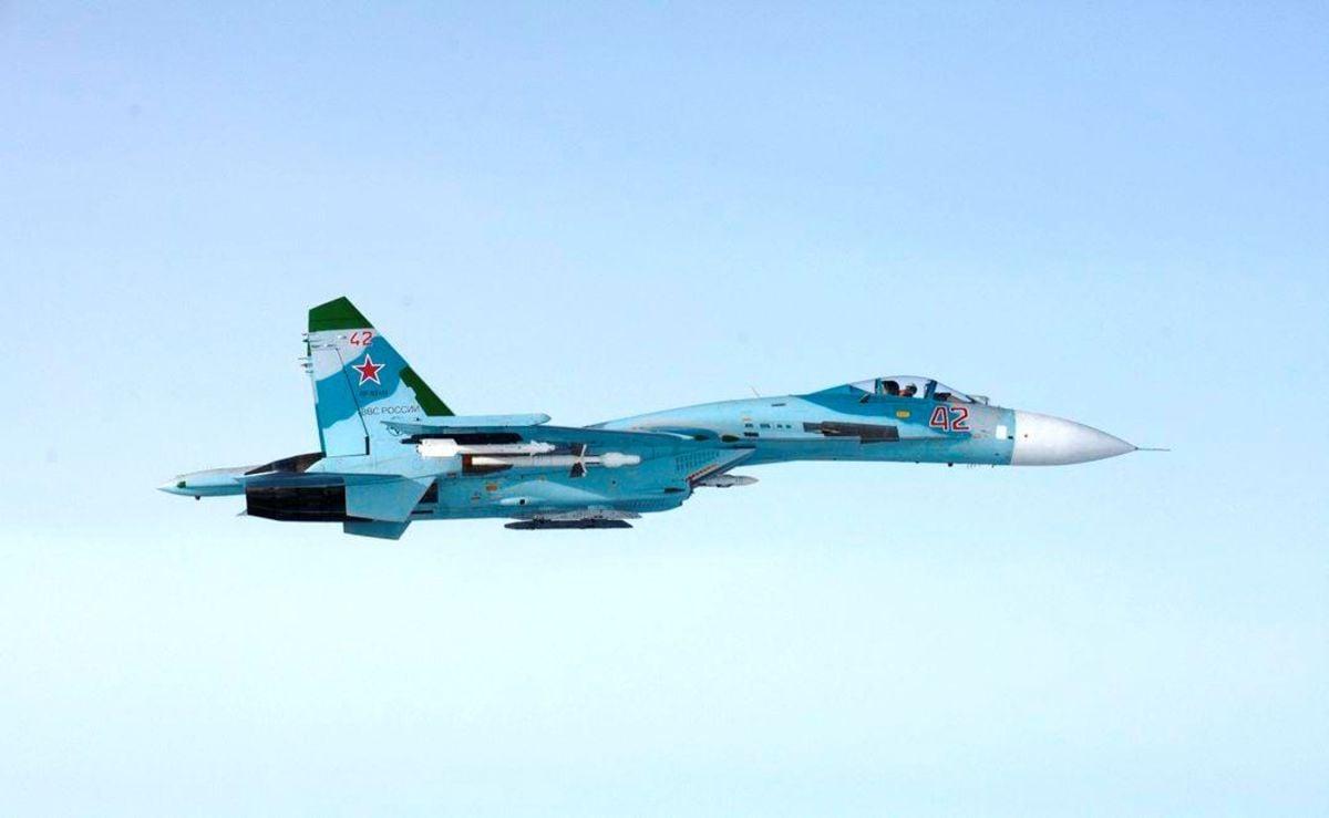 An illustrative image / Russian Su-27 / REUTERS