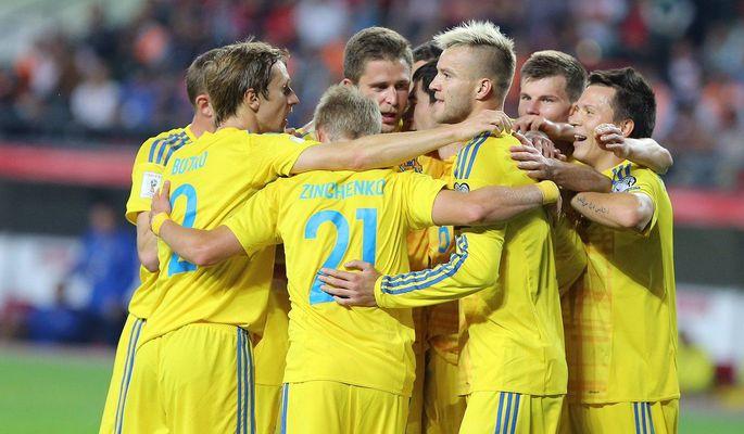 Сборная Украины играет с Финляндией / ФФУ