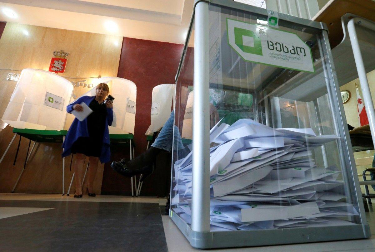 Вибори в Грузії / REUTERS