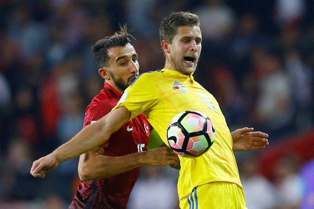 Нападающий сборной Украины Артем Кравец не имел стабильной игровой практики в Испании / Reuters