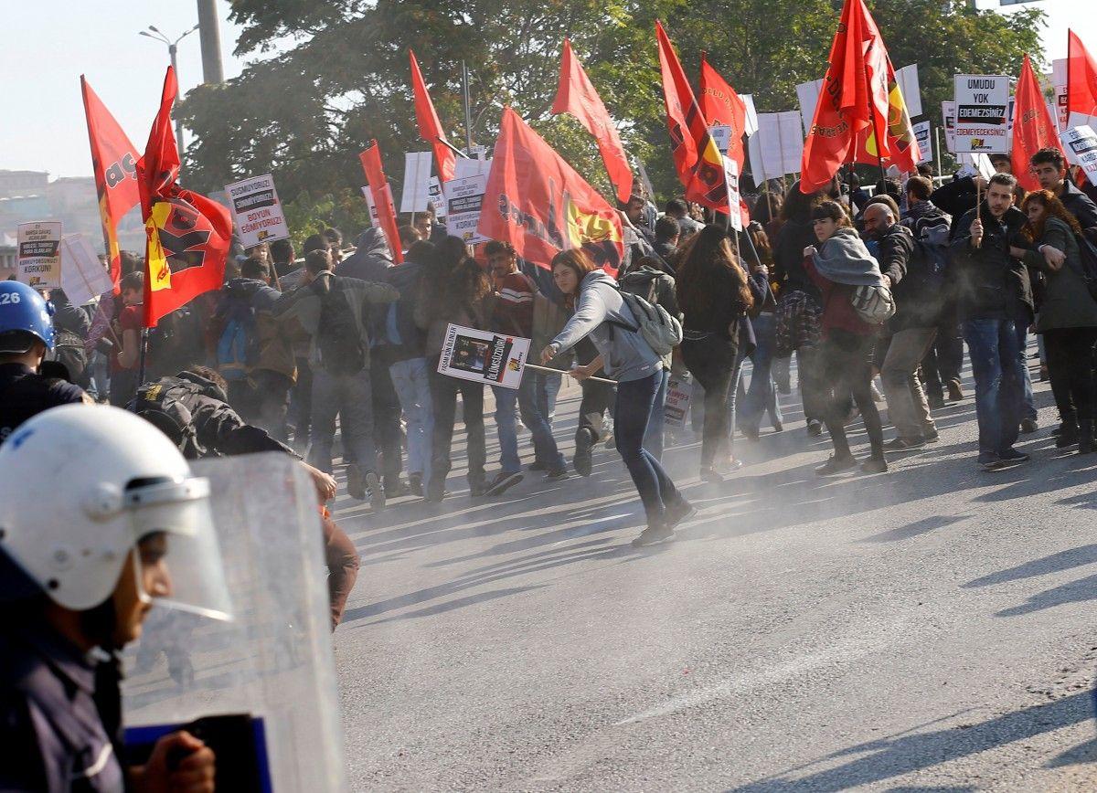 Столкновения в Турции / REUTERS