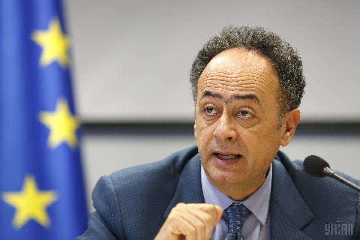 Новый глава Представительства ЕС в Украине Хьюг Мингарелли / Фото УНИАН
