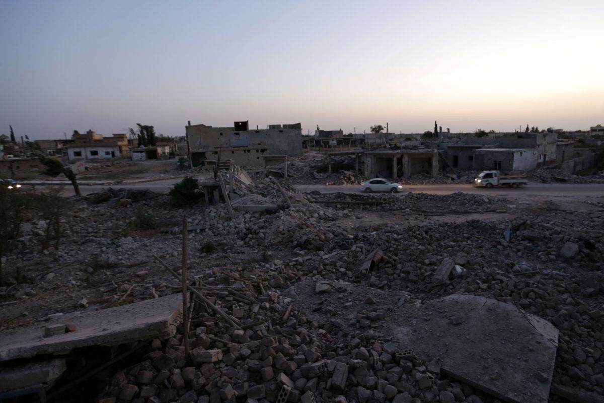 Последствия боевых действий в Сирии, иллюстрация / REUTERS