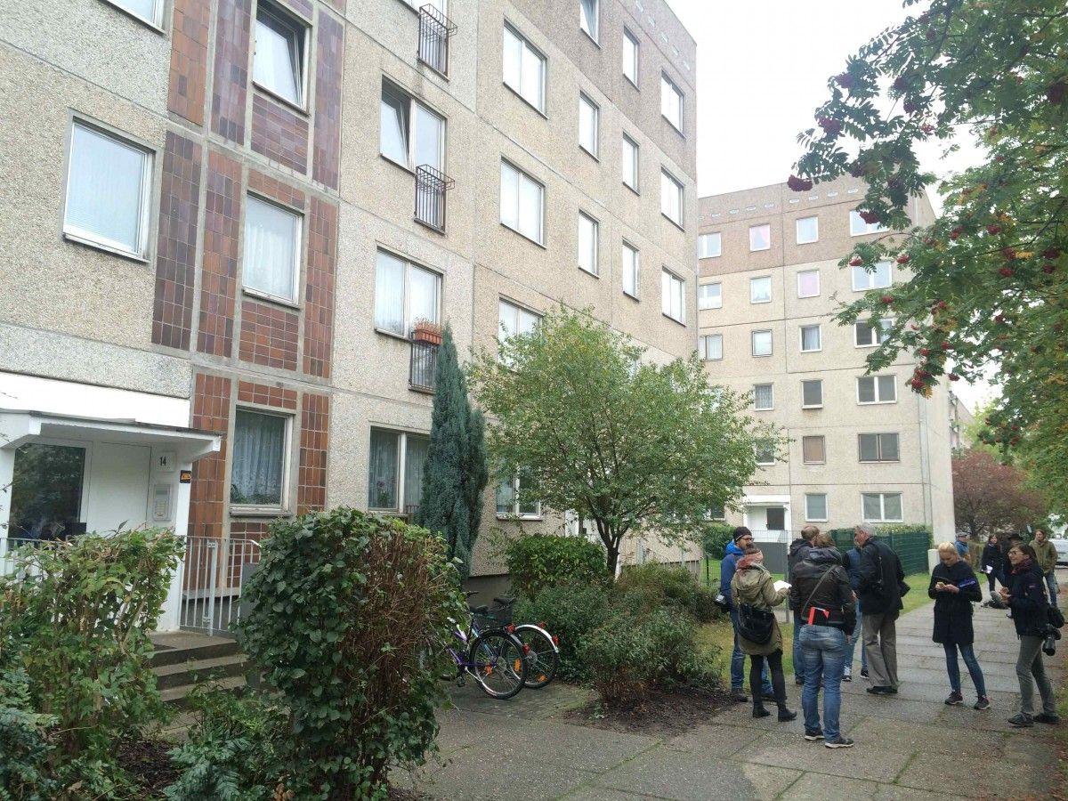 Дом в Лейпциге, где был задержан сириец / REUTERS