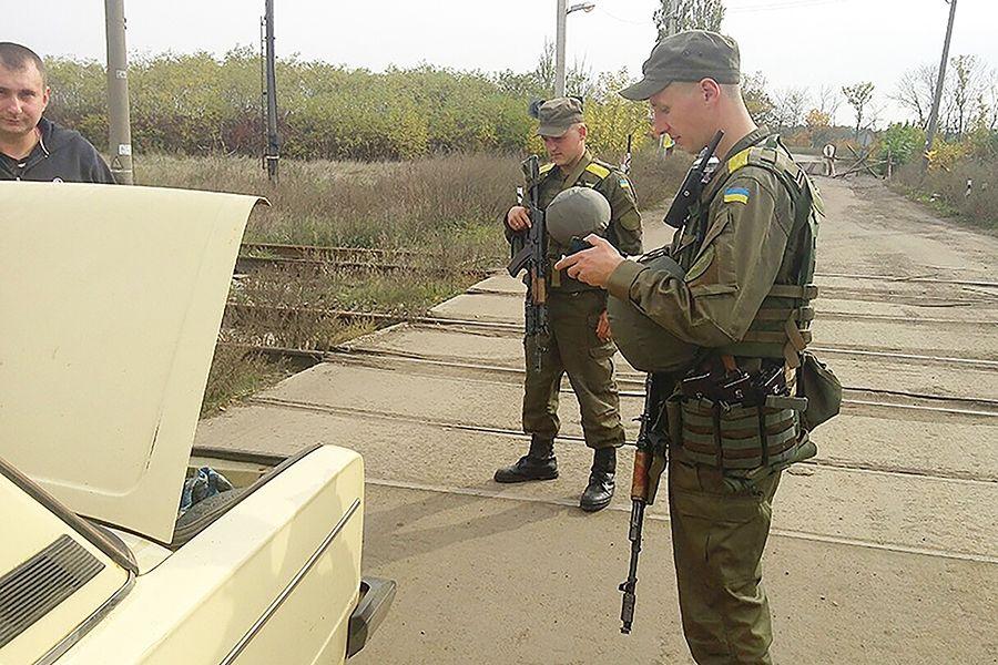 В зоне АТО нацгвардейцы задержали боевика