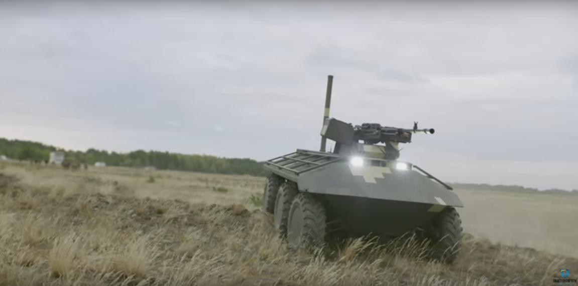 Укроборонпром показал видео беспилотного минибронетранспортера