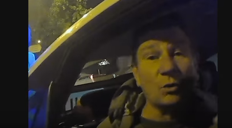 активисты поймали пьяного