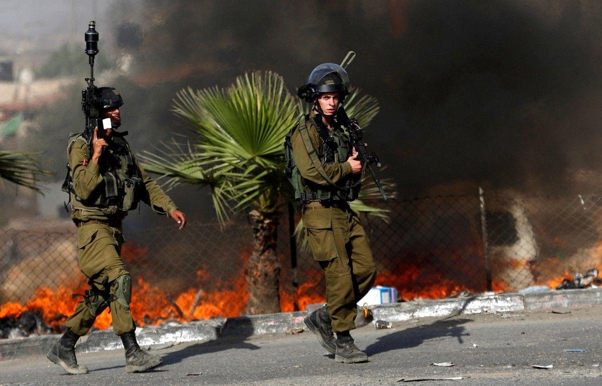 Солдаты армии Израиля в провинции Иерусалим / REUTERS