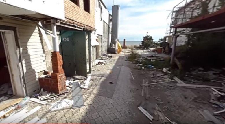 Shyrokyne in ruins / Screenshot