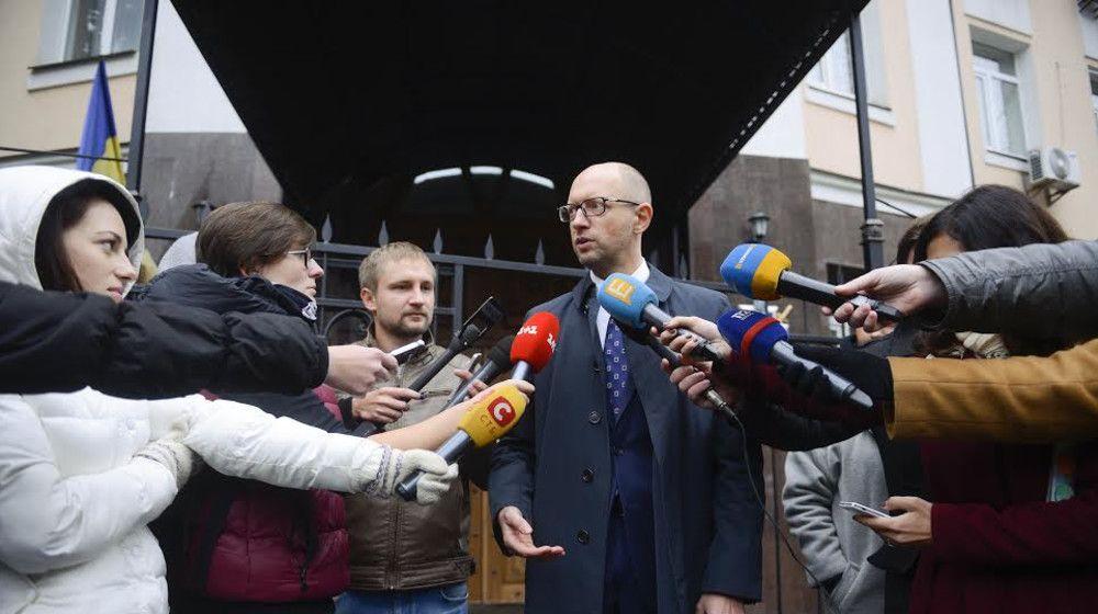 Яценюк: Янукович для Росії був не більше, ніж політична лялька / Фото nfront.org.ua
