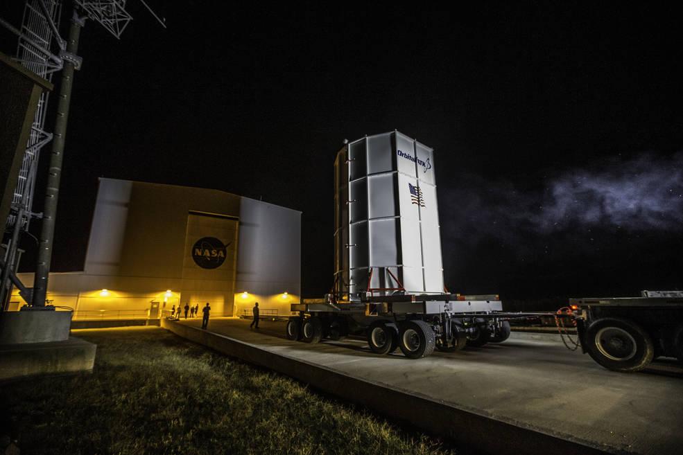 Запуск ракеты перенесен из-за подготовки к тропическому шторму / nasa.gov