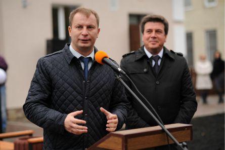 Степан Барна під час відкриття центру / Фото прес-служби ТОДА