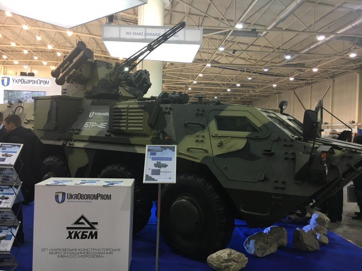 BTR-4 / Photo from UNIAN