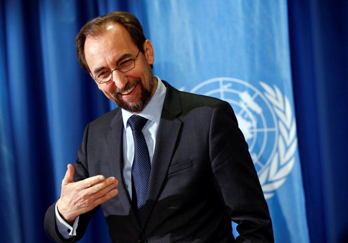 Зейд Раад аль-Хусейн / REUTERS