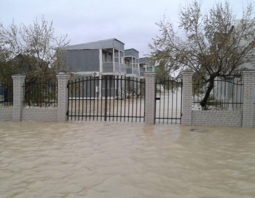 В Запорожской области из-за непогоды затопило базы отдыха / 061.ua