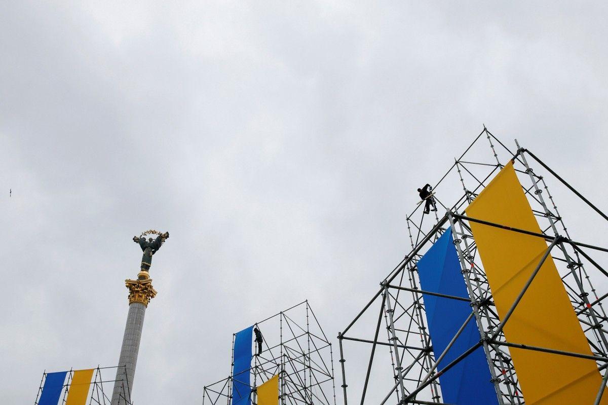 Майдан Незалежності у Києві / REUTERS
