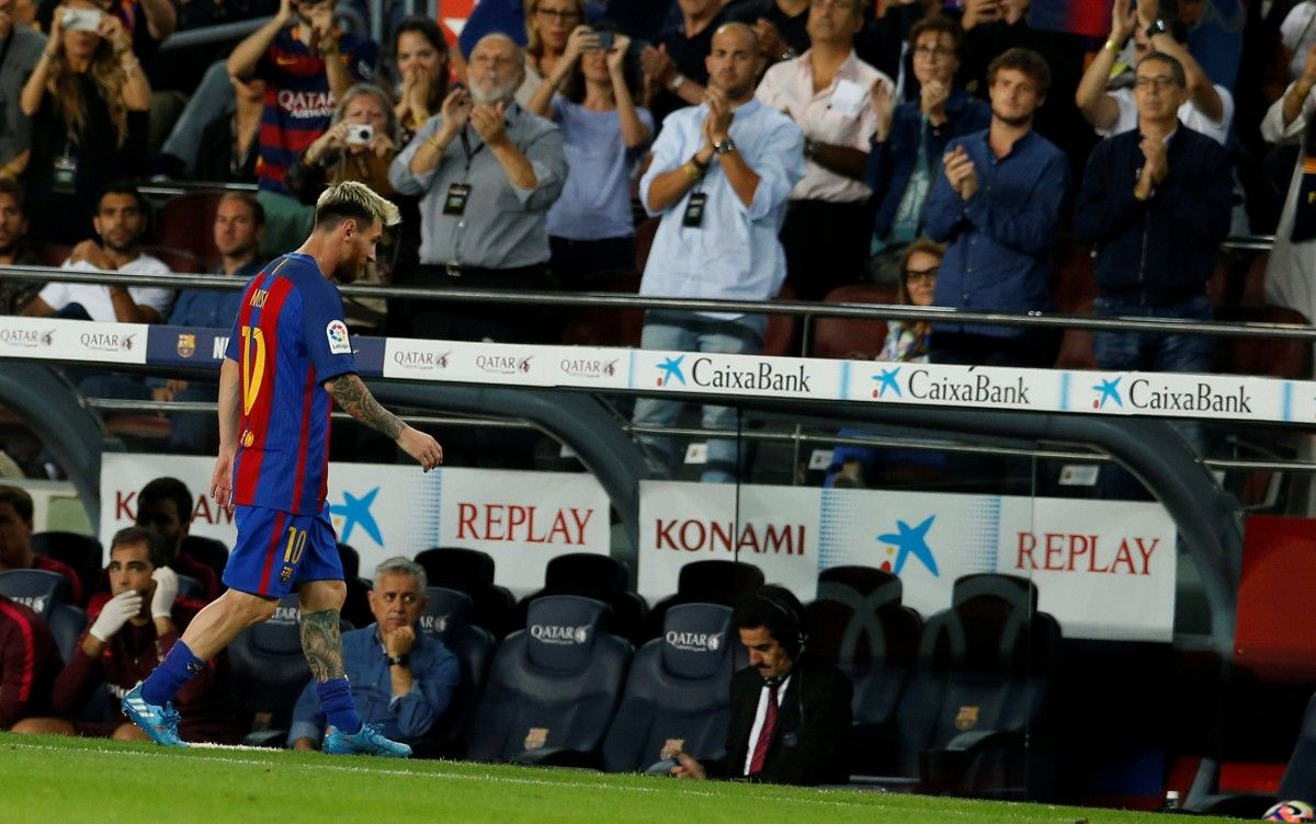 Месси забил 180 голов в Ла Лиге / Reuters
