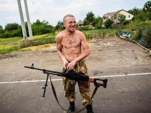 """Ликвидированный в 2016 году террорист """"Моторола"""" / фото tsn.ua"""