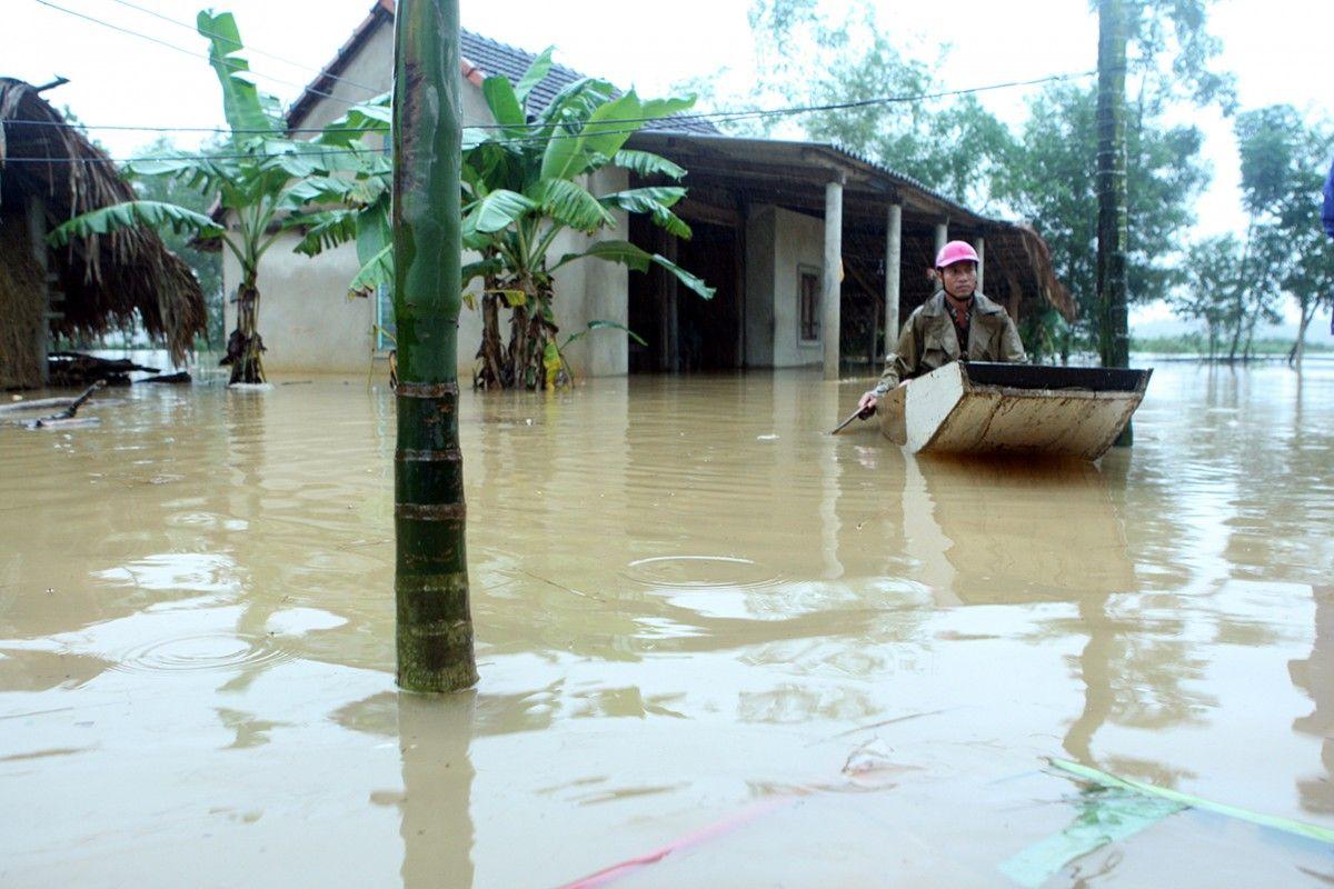 Наводнение во Вьетнаме / Reuters