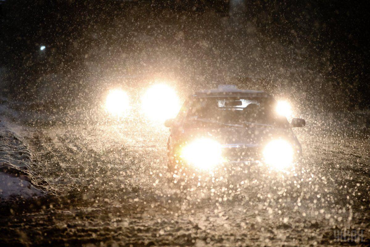 В Україні сьогодні пройде мокрий сніг / УНІАН