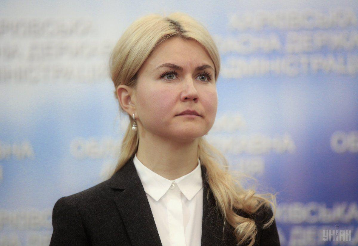Глава Харьковской ОГА Юлия Светличная / фото УНИАН