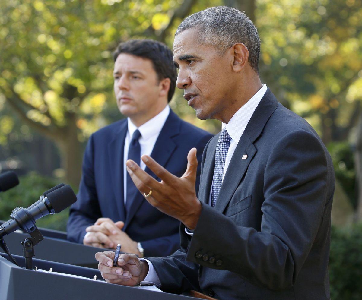 Барак Обама і Маттео Ренці / REUTERS