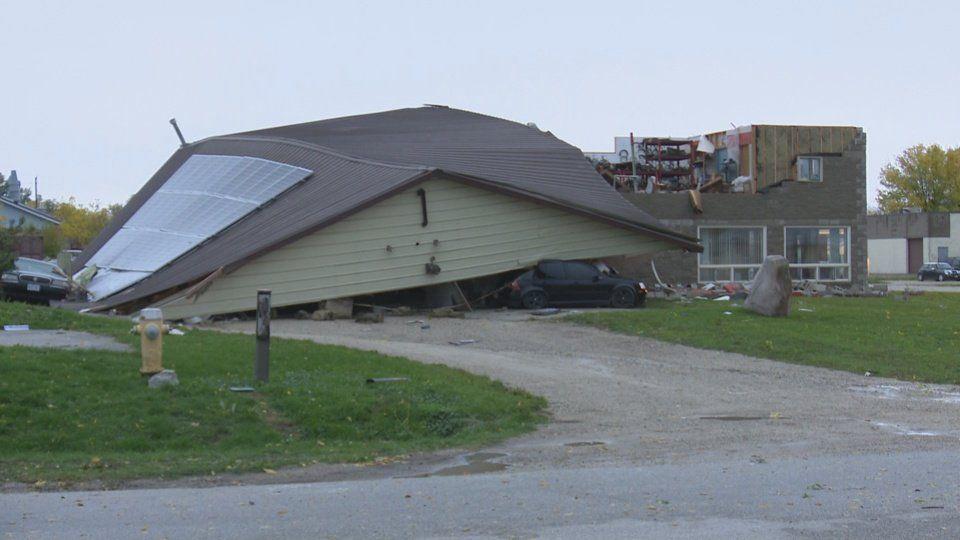 Мощный шторм накрыл Онтарио / twitter.com, @Media371